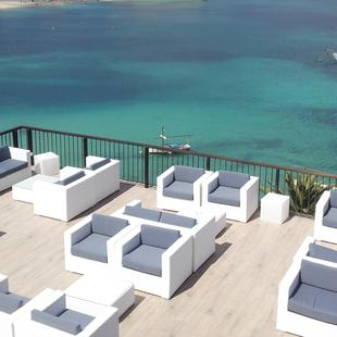 ZONE CHILL-OUT Hotel Alua Hawaii Mallorca & Suites Palmanova, Mallorca
